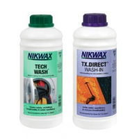 Набор Nikwax Twin Pack - Tech Wash 1L + TX Direct 1L